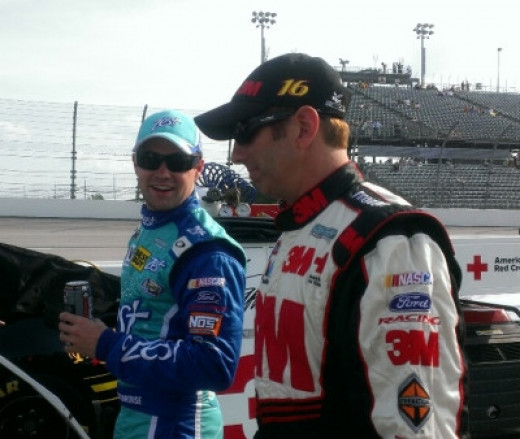 Greg Biffle and Ricky Stenhouse, RFR's other two drivers, have won multiple titles at NASCAR's lower levels