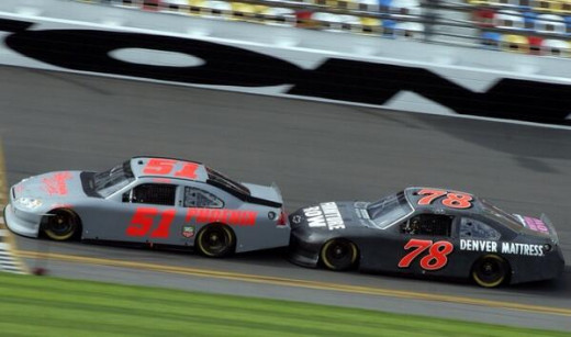 The tandem style of drafting produced more passing but was unpopular with fans and NASCAR banned it this season