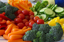 Fruits and vegetables will provide brain- and body-building nutrients, not a sugar rush.