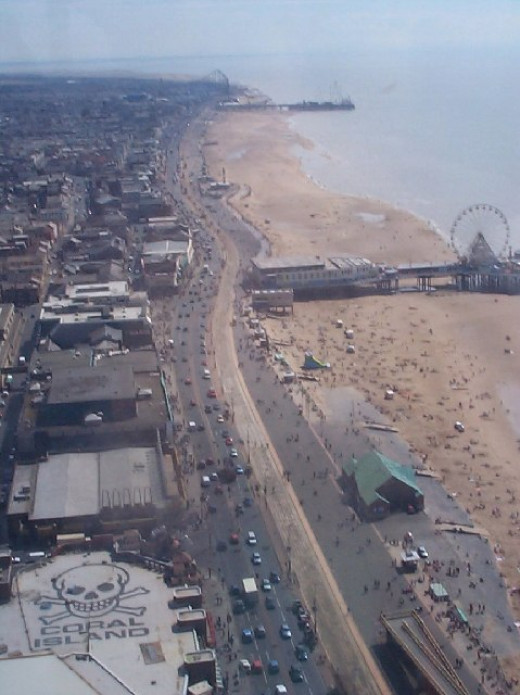 Blackpool from Above