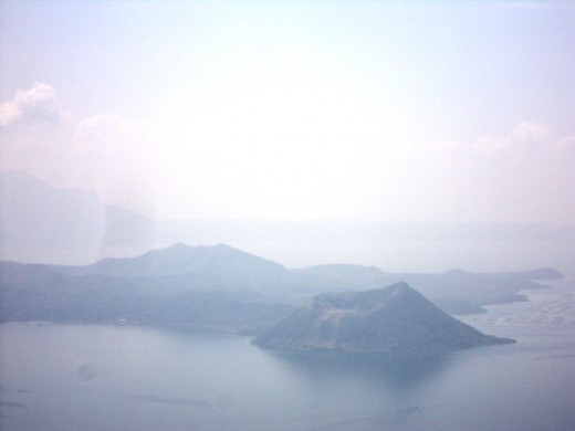 Tagaytay City is Overlooking the Captivating View of Taal Volcano Island in the midst of Taal Lake