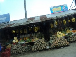 Pineapples are abundant in Tagaytay