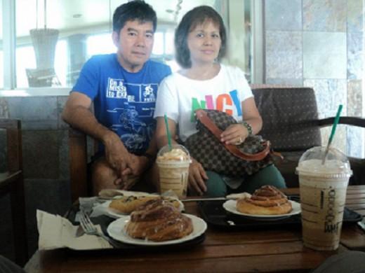 Breakfast at the Upper Floor of Starbucks Tagaytay