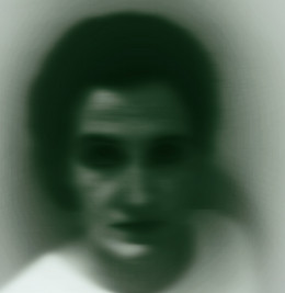 Look at this ghost that lives in my house.  Oh wait, no, that is just me using some simple photo enhancement software.