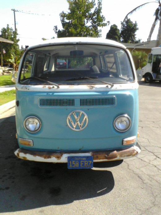 The VW Bus my hubby bought a few years back. Sold it to a high school kid