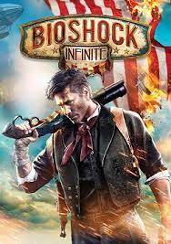 Bioshock Infinite box art.