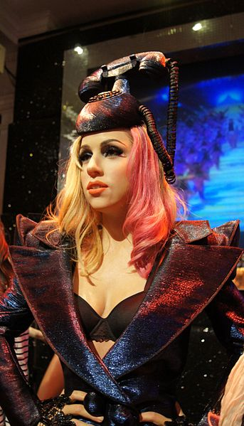 Lady Gaga Wax Figure Madam Tuesday