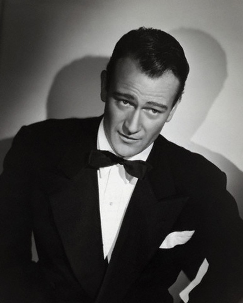 "JOHN ""THE DUKE"" WAYNE LOOKED GREAT IN A TUX"