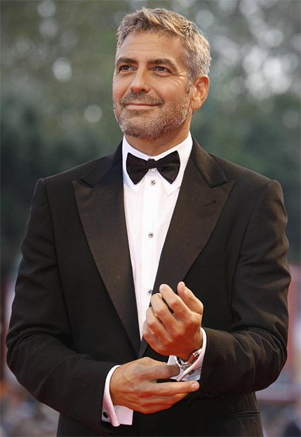 "GEORGE CLOONEY, THE MOST FAMOUS STAR IN HOLLYWOOD NEVER GOES TO A SOCIAL EVENT WITHOUT HIS TUX. HE NAMED HIS TUX ""JOE."""