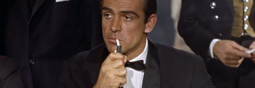 "SEAN CONNERY, ""007,"" REALLY MADE THE TUX FAMOUS."