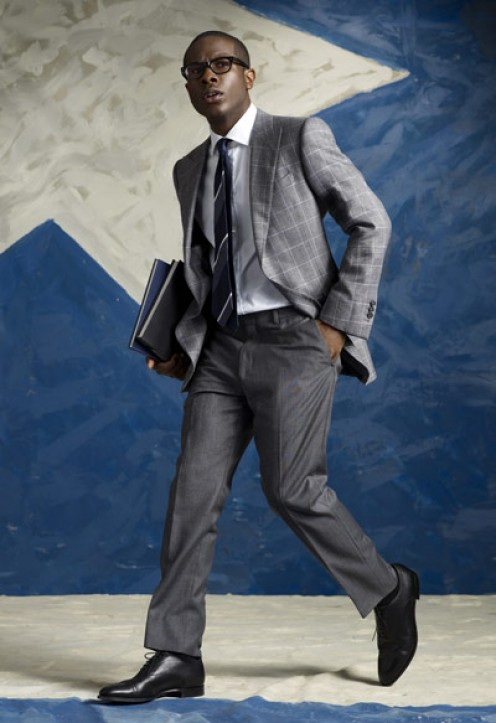 You can run somewhere but still look good in dress clothes.
