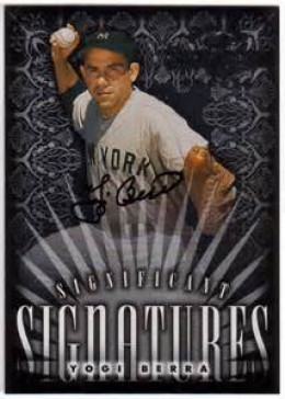 Mainstream Autograph Card valued at $60
