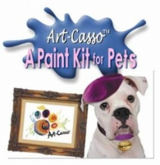 Pup Casso Dog Painting Kit