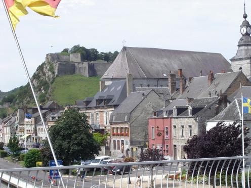 Fort de Charlemont and Saint-Hilaire church, Givet, France