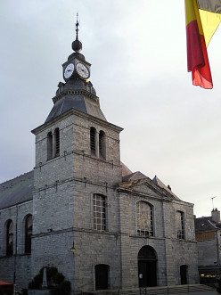 Saint-Hilaire church, Givet, France