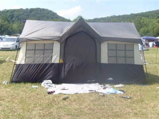 Our house-like tent