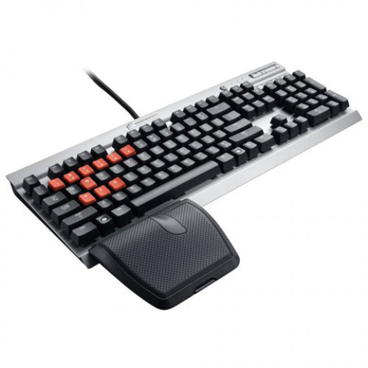 The previous generation K60 wasn't fully mechanical and had a wrist rest that was a bit awkward for most.