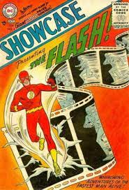 Barry Allen is seen for the first in Showcase # 4 from 1956 with artwork by Carmine Infantino.