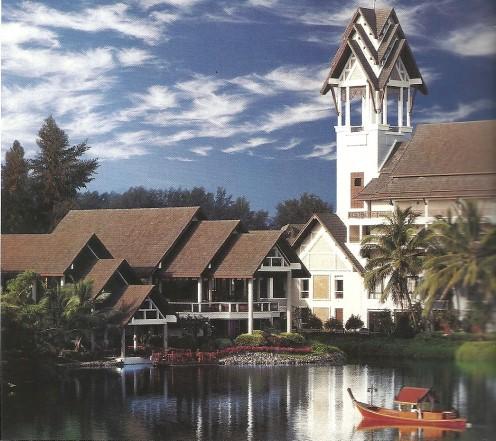 The Angsana Laguna Phuket Sits Near Blue Lagoons.
