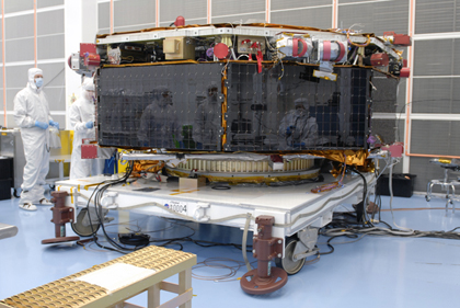 The Magnetospheric Multi scale (MMS) mission is a Solar Terrestrial Probes mission comprising four identically instrumented spacecraft that will use Earth's magnetosphere as a laboratory to study the microphysics of three fundamental plasma processe