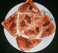 Easy to Make Bread Pizza