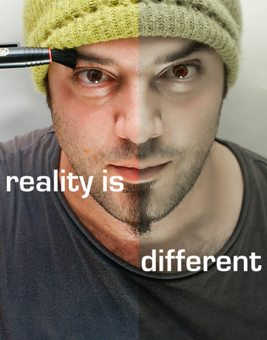 reality hurts huh? from Deniz Deniz flickr.com