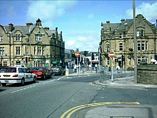 Penny Street, Lancaster, where I worked at the time.