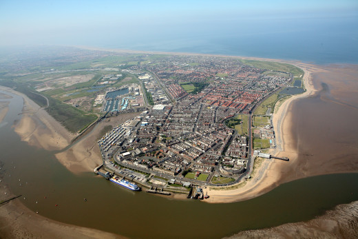 Fleetwood before the pier fire