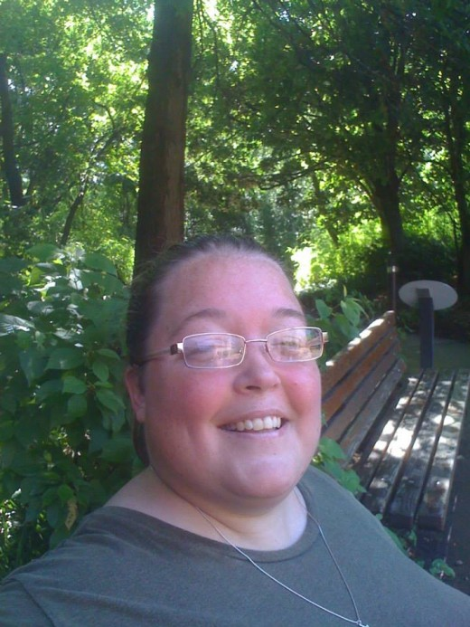 Me, Becki Rizzuti, at the Cleveland Zoo in July, 2013.