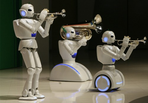 This picture shows the complexity and sophistication of robotics we've achieved