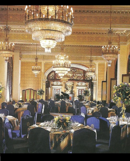 The Hotel Alfonso XIII Ballroom