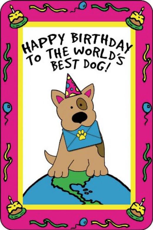 Crunchkins Edible Dog Card