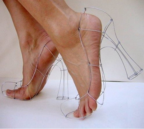 Who said womens shoes are boring