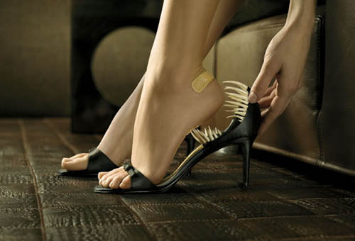 The high heel has never been sharper