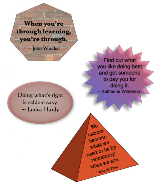 Quotes for an I Plan