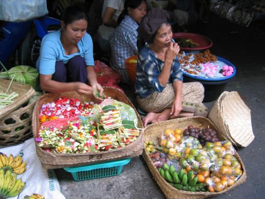 Ubud --The Market
