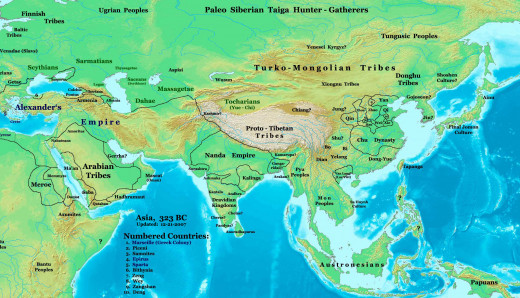 Chankya guided Chandragupta to conquer whole of Nanda Empire and expand it further.
