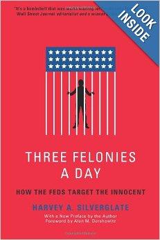 http://www.amazon.com/Three-Felonies-Day-Target-Innocent/dp/1594035229
