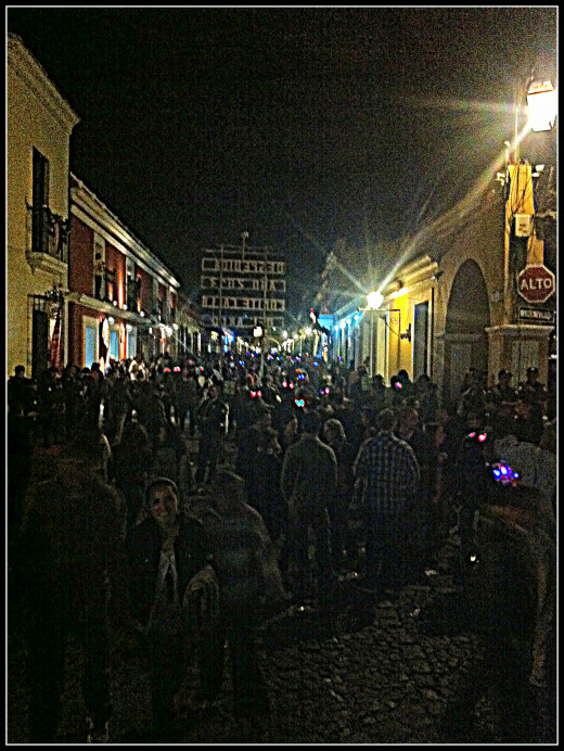 Antigua street party