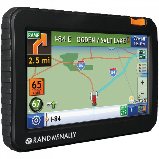 The Rand McNally TND 720 GPS was the result of working directly with professional truck drivers and having them test and gather feedback from its use in the real world.