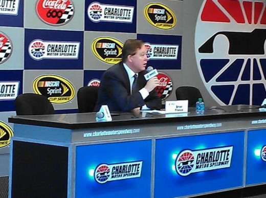 NASCAR CEO Brian France takes a lot of criticism but it seems his team has begun to listen as well