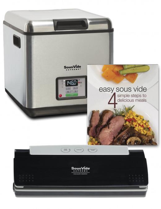 Sous vide cooking starter pack