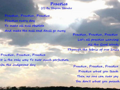 Practice - The 9th Good Word of the Good Words Project.