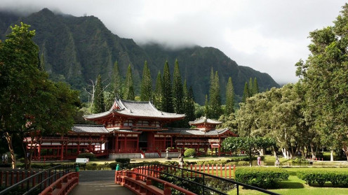 Byodo-In Temple in Kaneohe, Hawaii (Oahu)