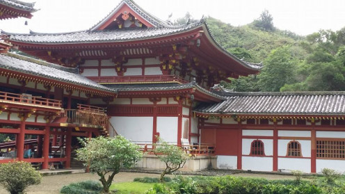 Byodo-In Temple in Kaneohe, Hawaii