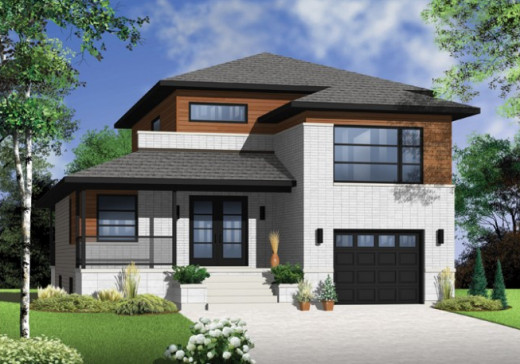 House Drawing Plans For Modest But Elegant Small Home Designs
