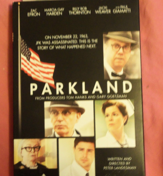 I never made it to the theater to see Parkland, but the DVD is the next best thing.