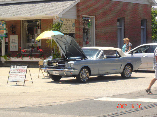 1960s Light Blue Ford Mustang - convertible and manual transmission - 2007 - St. Michael's, Maryland