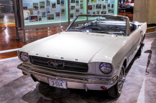 1964 Ford Mustang Convertible serial number one