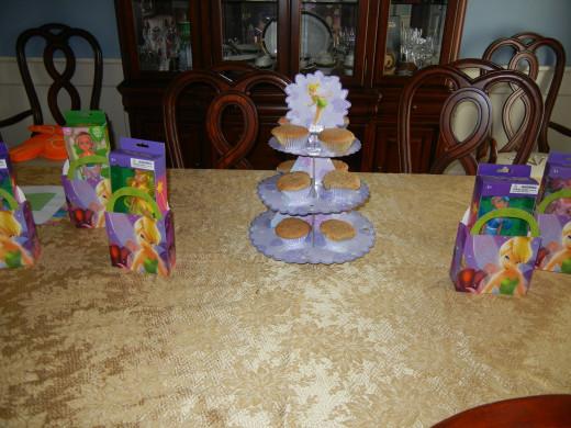 Tinkerbell Cupcake Holder